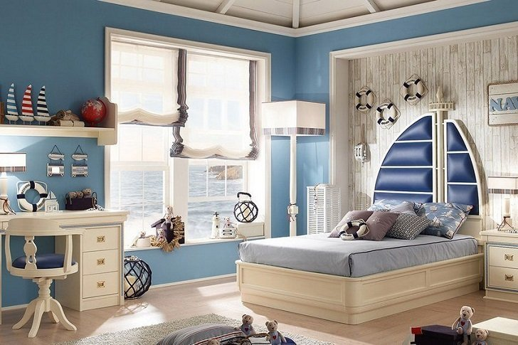 Best Nautical Decor In Kids Bedrooms – Colors Furniture And With Pictures