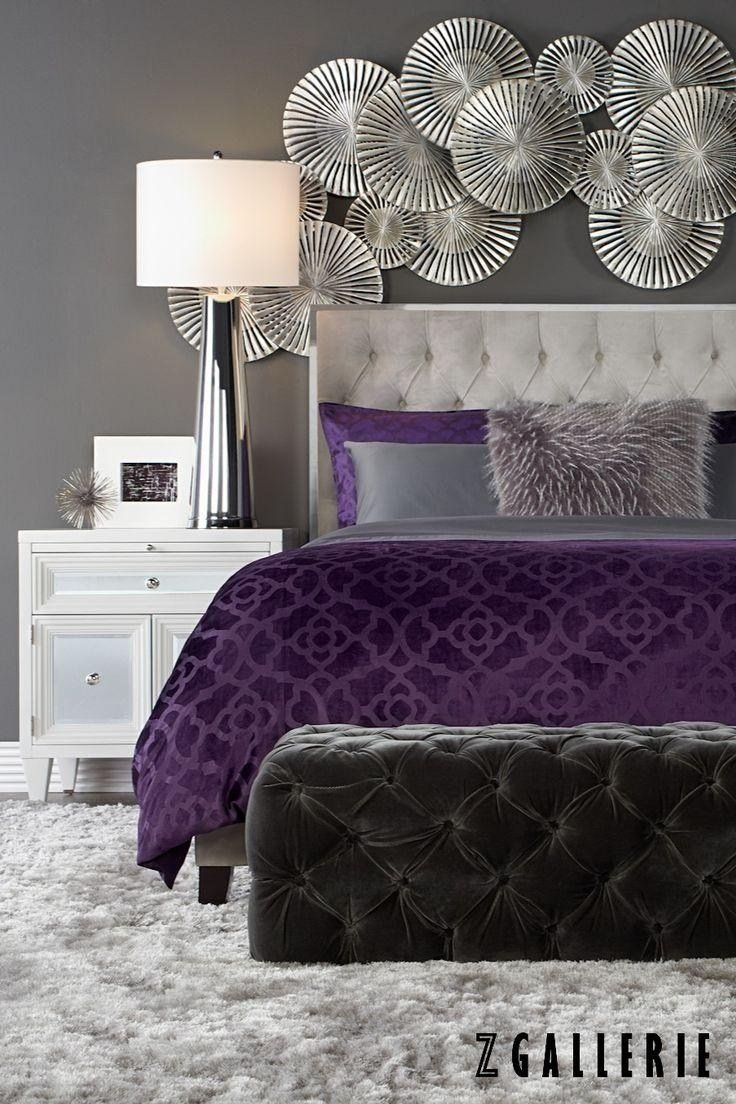 Best 20 Best Collection Of Purple Wall Art For Bedroom Wall With Pictures