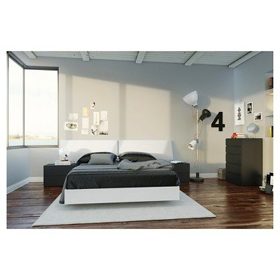 Best Melrose 5 Piece Full Size Bedroom Set Nexera Target With Pictures