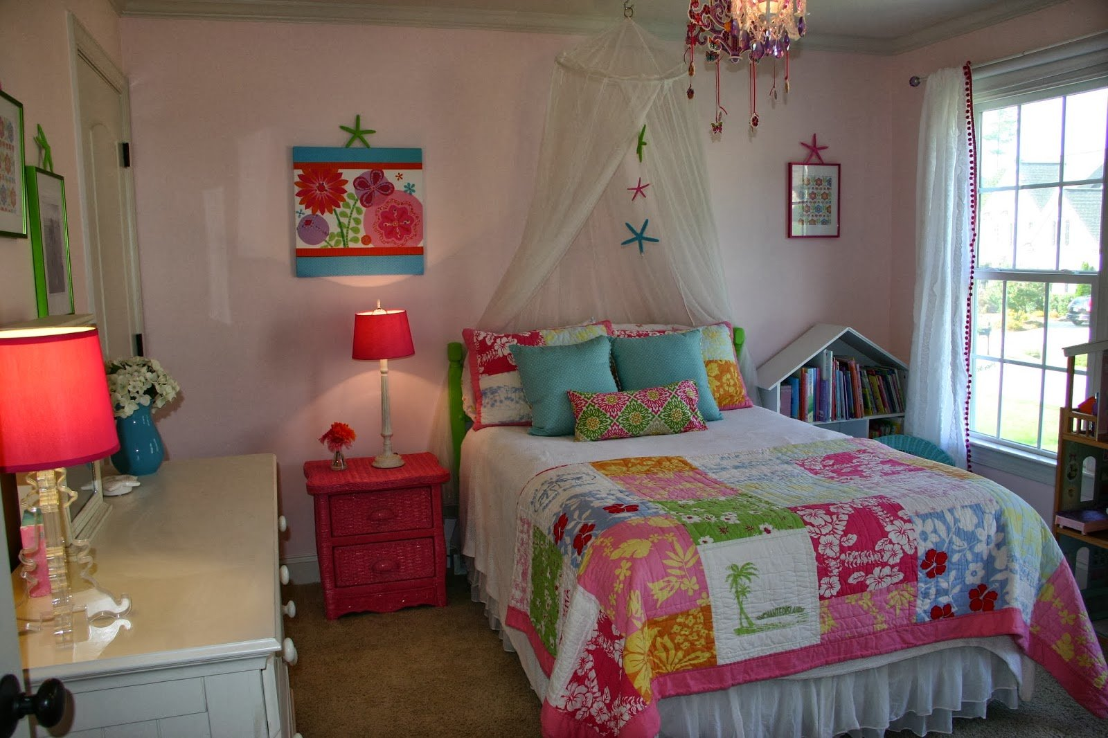 Best Cottage Blue Designs Spiced Up Room For A Sparkly Girl With Pictures