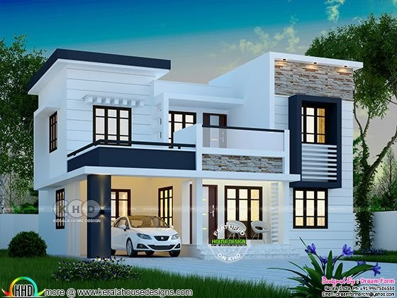 Best 1748 Square Feet Modern 4 Bedroom House Plan Kerala Home With Pictures