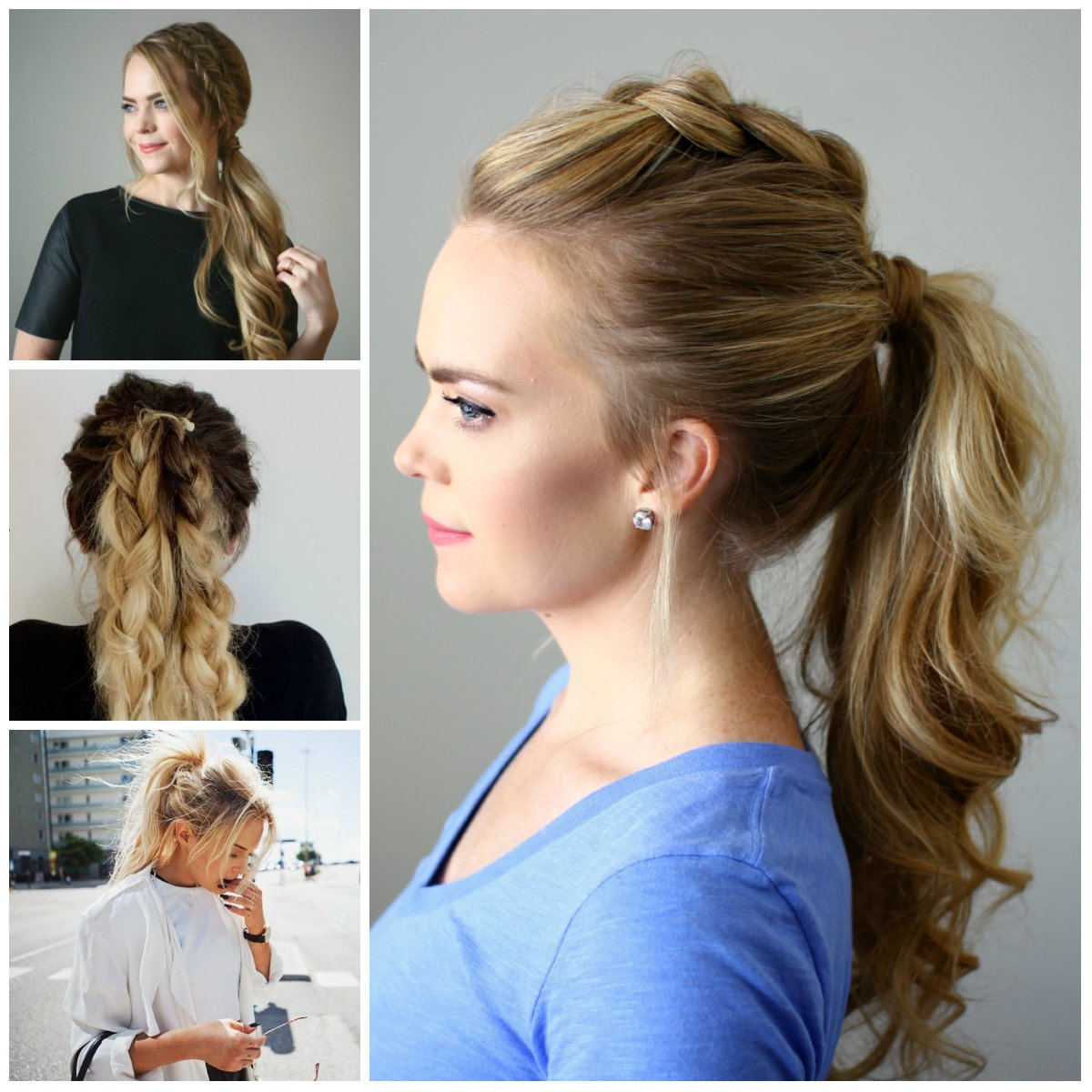 Free How To Do Easy Hairstyles At Home 2017 For Girls Wallpaper