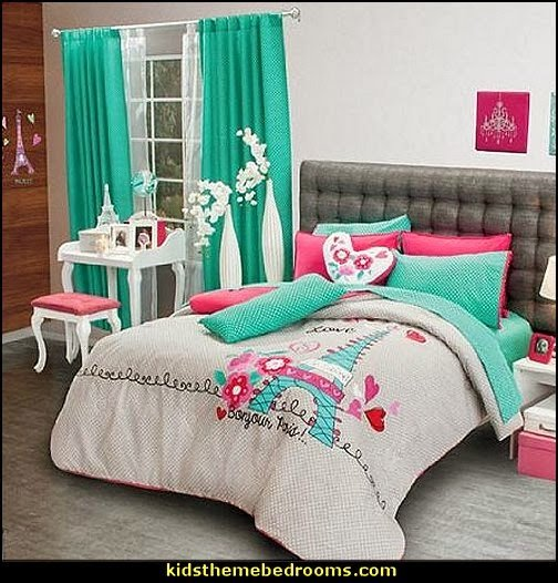 Best Decorating Theme Bedrooms Maries Manor Paris Themed Bedding With Pictures