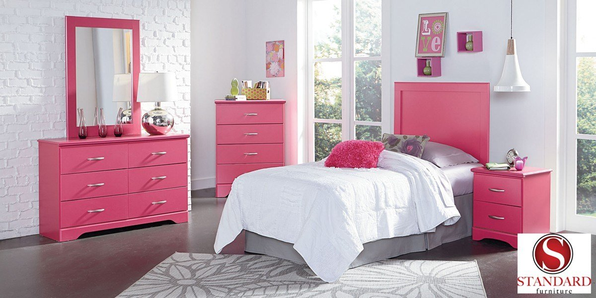 Best True Love Pink Bedroom Collection Efw Bedroom Furniture With Pictures