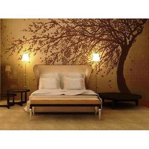 Best Horizontal Fancy Bedroom Wallpaper Rs 30 Square Feet Factory 2 Home Id 15681762830 With Pictures