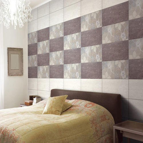 Best Qutone Pack Bedroom Wall Tile Size Medium Rs 35 Square With Pictures
