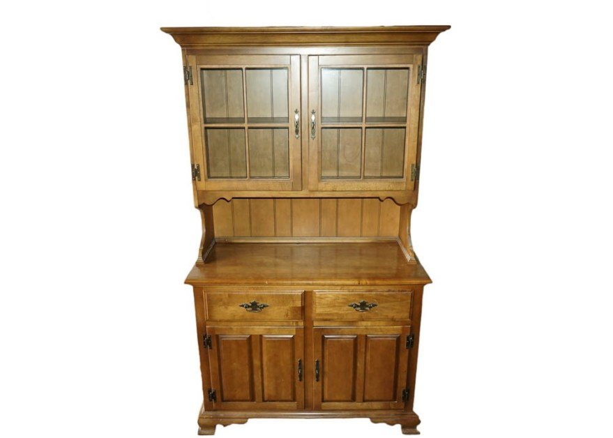 Best Maple China Cabinet By Keller Furniture Ebth With Pictures