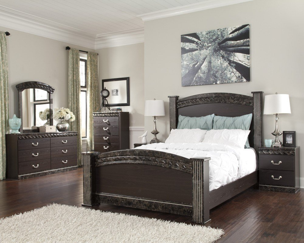 Best Vachel 6 Piece Bedroom Set Price Busters With Pictures