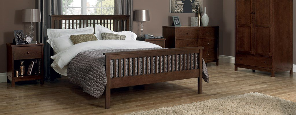 Best Walnut Bedroom Furniture – Solid Wood Beds Wardrobes With Pictures