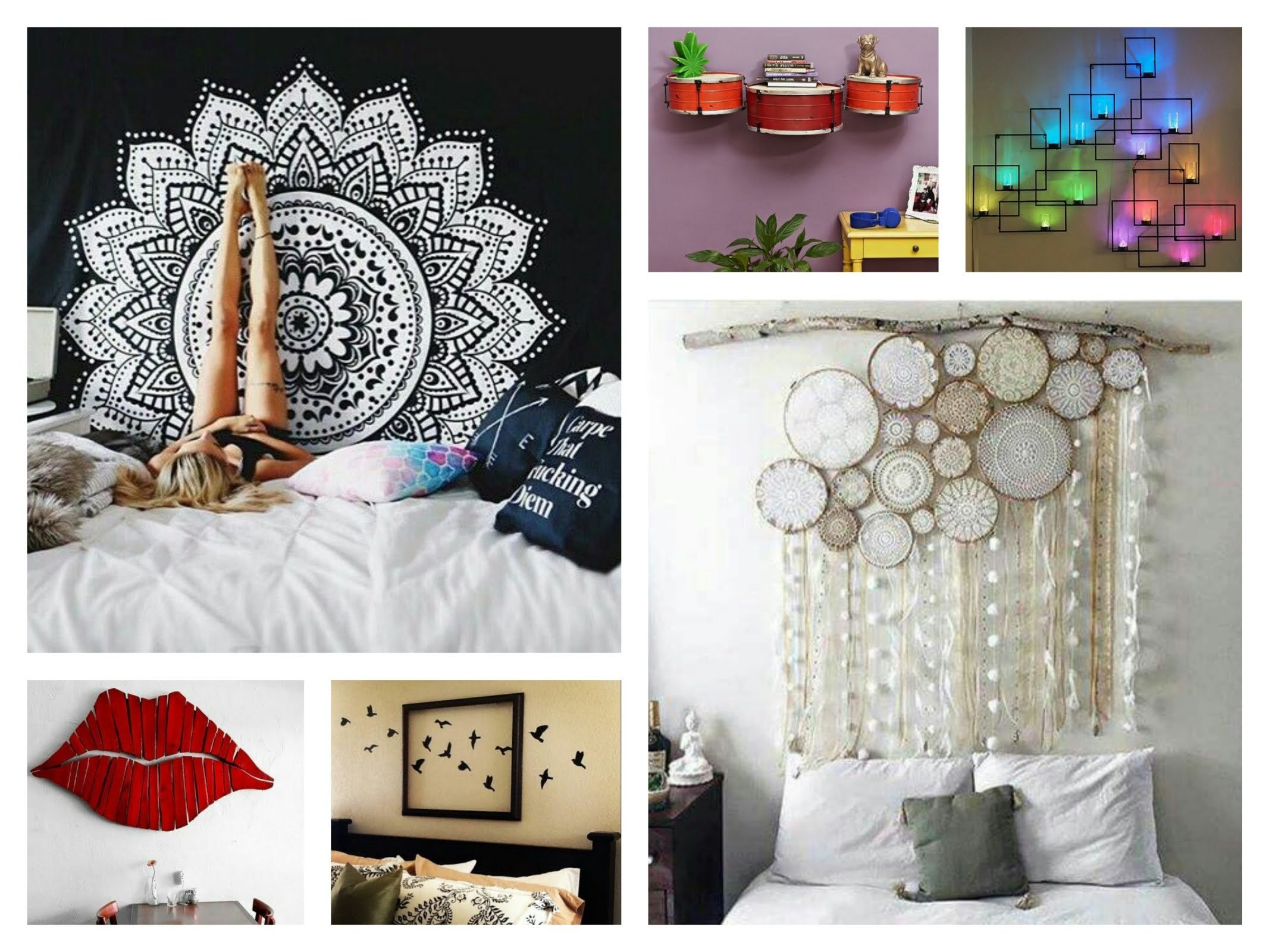 Best 5 Creative Ideas For Decorating Walls Dapoffice Com With Pictures
