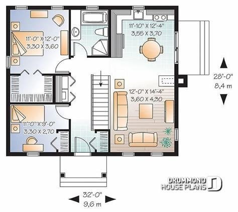 Best House Plan W3120 Detail From Drummondhouseplans Com With Pictures
