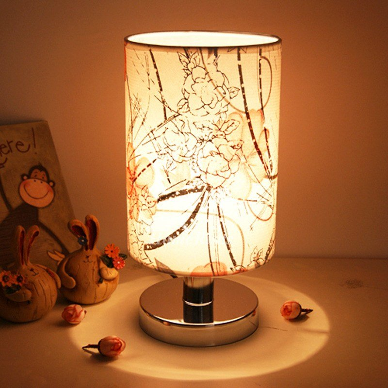Best Modern Table Lamps Fabric Shade Small Bedroom Unique Discount With Pictures