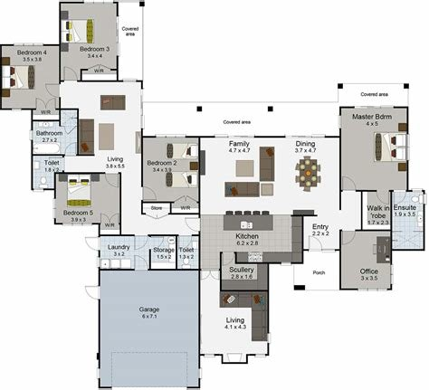 Best Large House Floor Plans Nz Waihi From Landmark Homes With Pictures