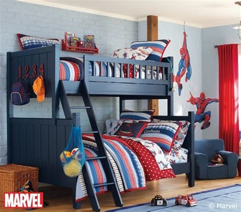 Best Spider Man™ Sheet Set Pottery Barn Kids With Pictures