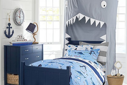 Best Shark Bite Bedroom Pottery Barn Kids With Pictures