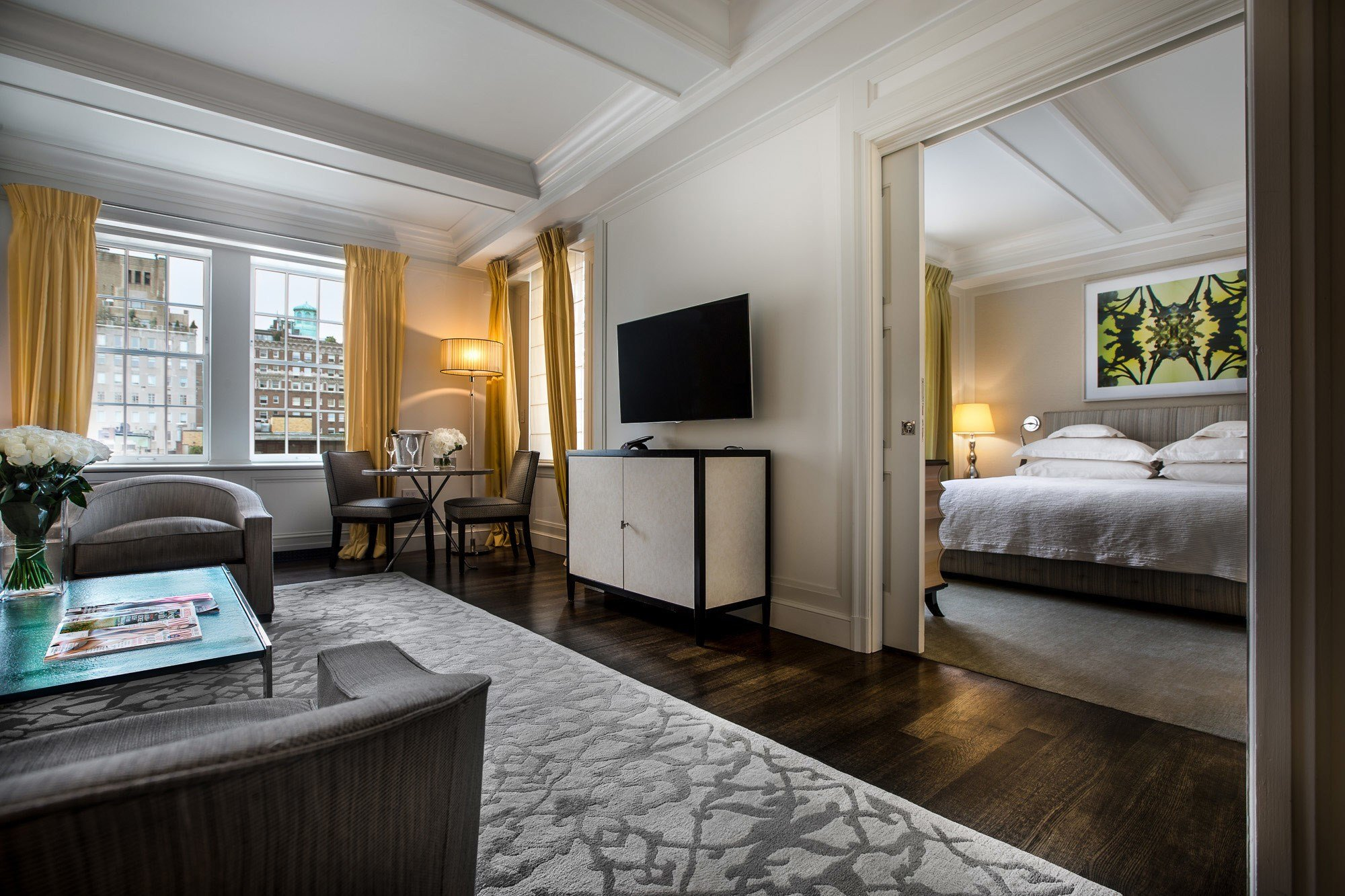 Best Manhattan One Bedroom Luxury Hotel Suite The Mark Hotel With Pictures