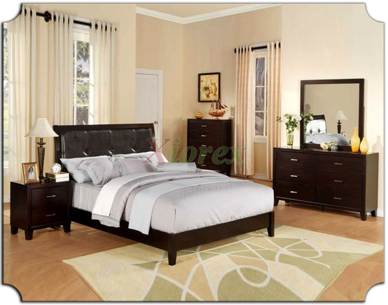 Best Platform Bedroom Furniture Set With Tufted Leather With Pictures