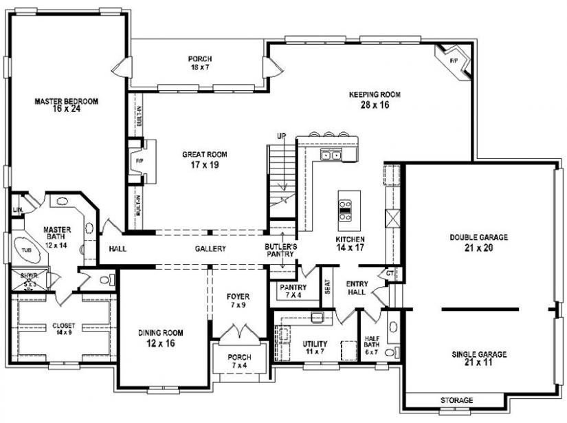 Best 3 Bedroom 3 5 Bath House Plans Unique 4 Bedroom 3 Bath With Pictures