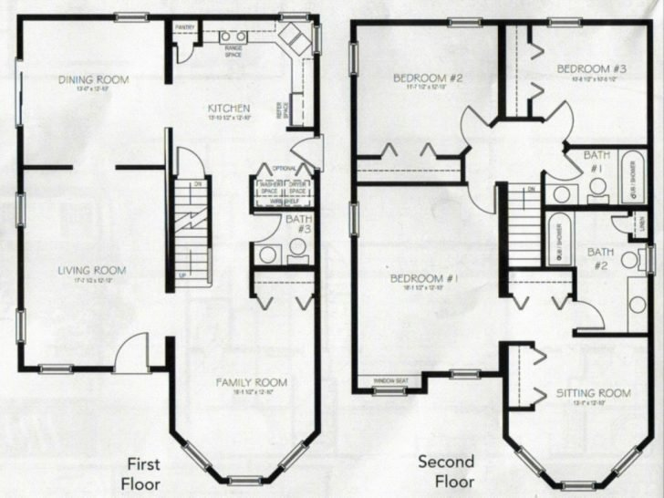 Best Beautiful 4 Bedroom 2 Storey House Plans New Home Plans Design With Pictures