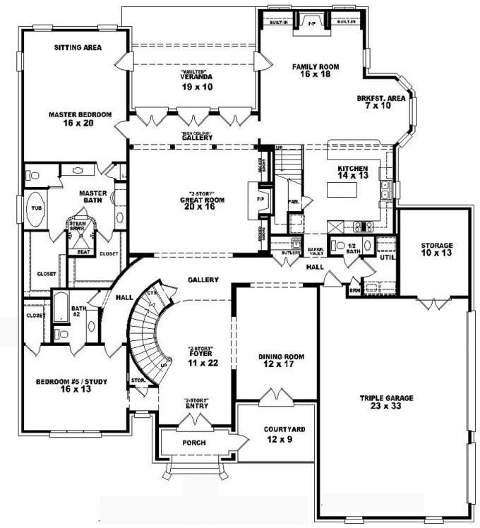 Best Luxury 4 Bedroom Two Storey House Plans New Home Plans Design With Pictures