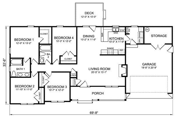 Best Luxury Four Bedroom Ranch House Plans New Home Plans Design With Pictures