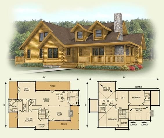 Best Unique Small Log Cabin Floor Plans And Prices New Home With Pictures
