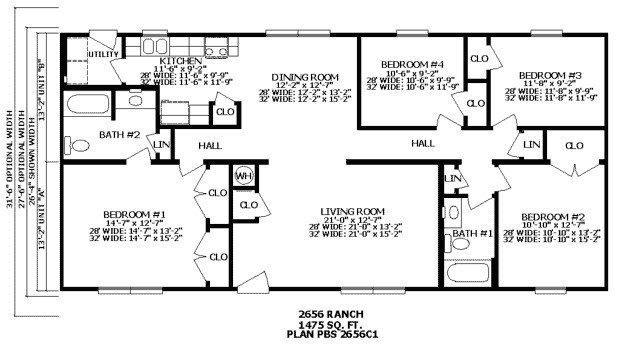 Best Beautiful 2 Bedroom 2 Bath Ranch House Plans New Home With Pictures