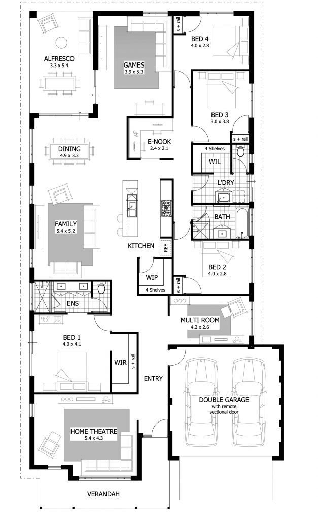 Best Rear Master Bedroom House Plans Archives New Home Plans With Pictures