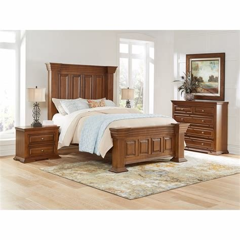 Best Happy Leather Bedroom Groups 5 Piece Preston Queen Bedroom Collection With Pictures
