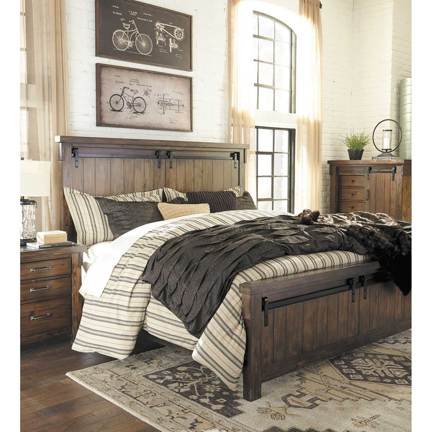 Best Lakeleigh 5 Piece Bedroom Set B718 Qbed 31 36 46 93 Ashley Furniture Afw With Pictures