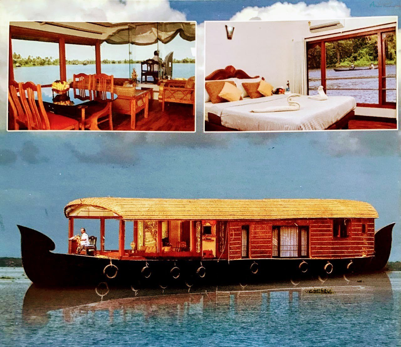 Best 1 Bedroom Deluxe Alleppey Houseboat Alleppey Houseboat Club With Pictures