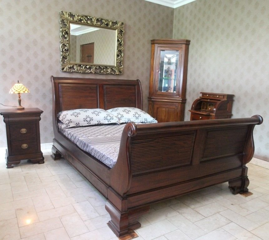 Best Solid Mahogany Wood Bedroom Set With King Size Bed With Pictures Original 1024 x 768
