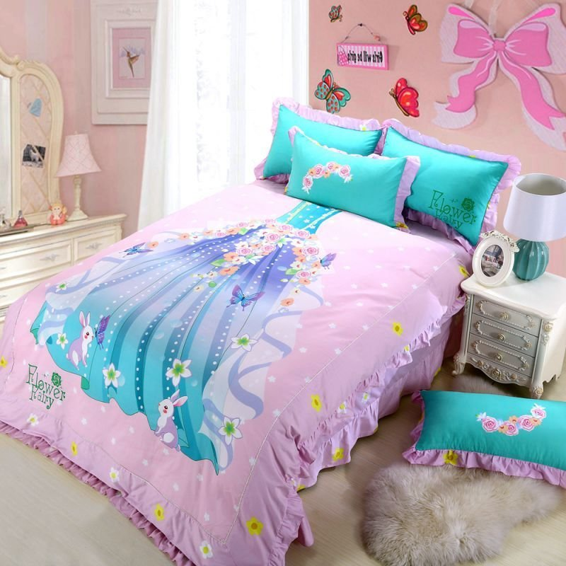 Best Princess Bedroom Set For Little Girl Pink Bedding With Pictures