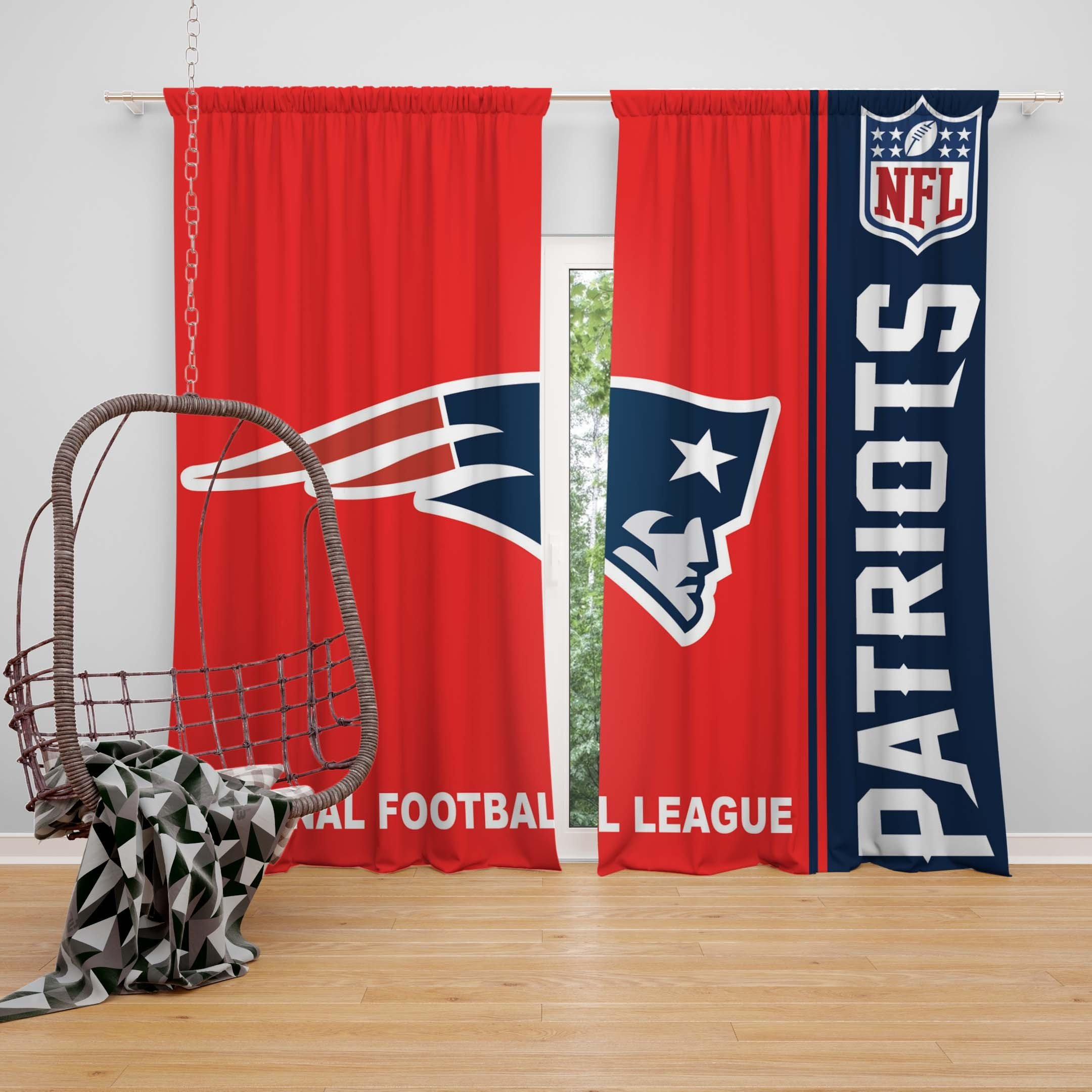 Best Nfl New England Patriots Bedroom Curtain Ebeddingsets With Pictures