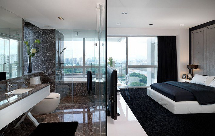 Best Incredible Open Bathroom Concept For Master Bedroom With Pictures