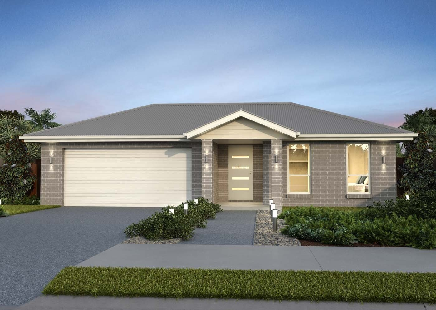 Best 4 Bedroom Home Design Single Storey House Plan – Fitzroy With Pictures