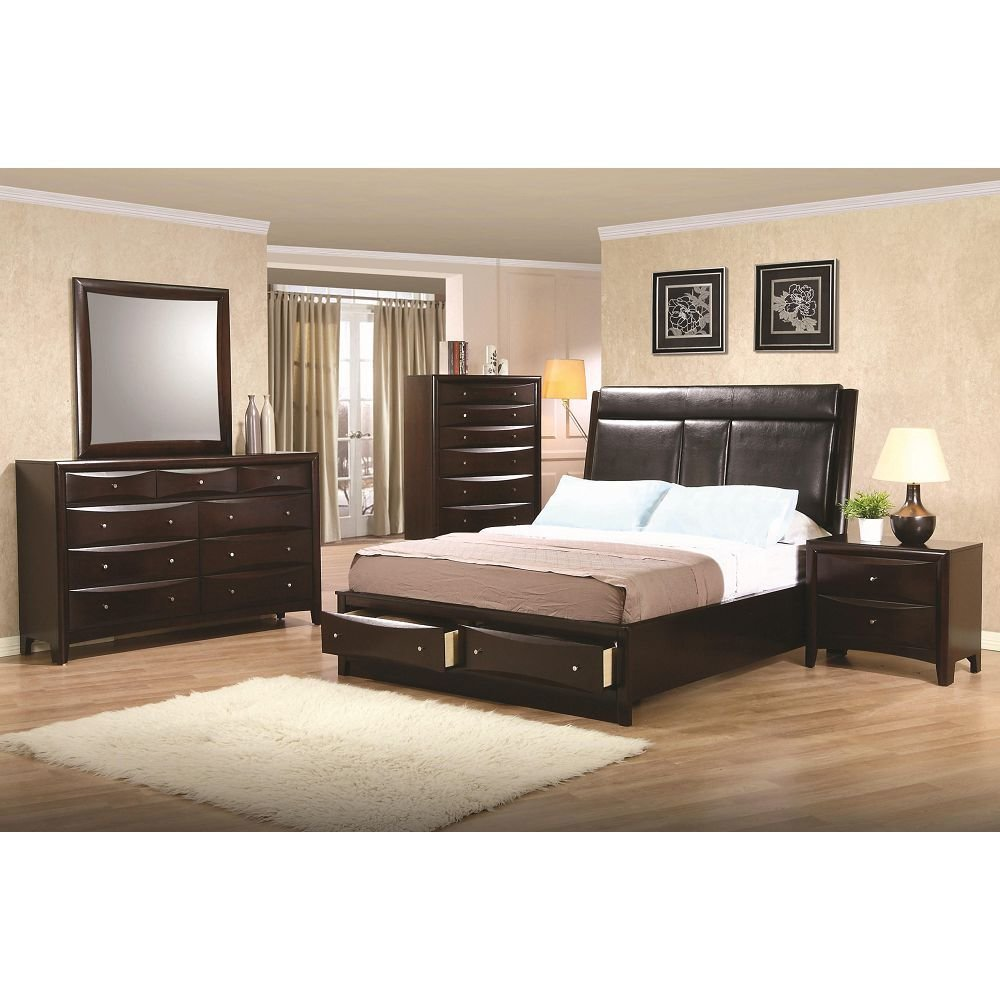 Best Queen Upholstered Storage Platform Bed With Pictures