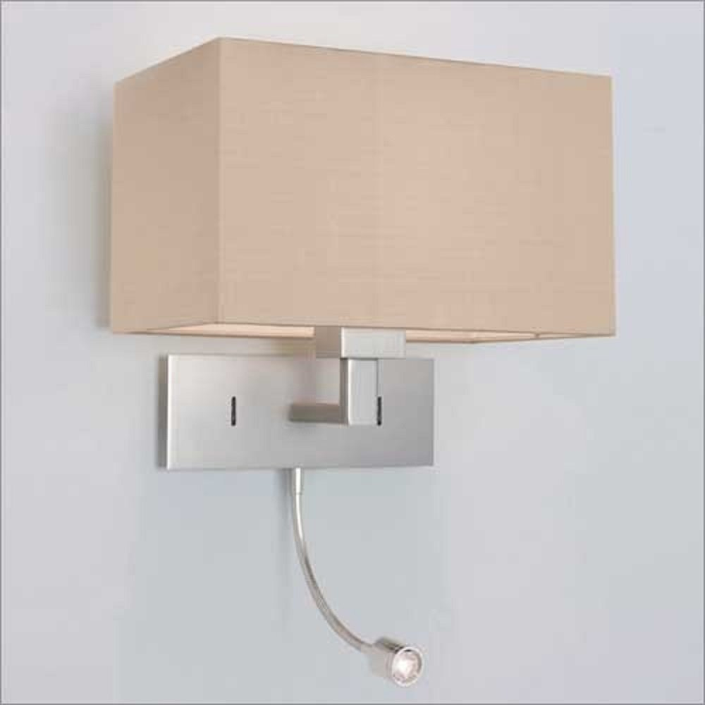 Best Over Bed Wall Light With Integral Led Book Light Hotel With Pictures