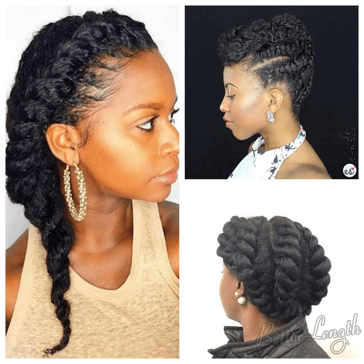 Free 7 Best Protective Hairstyles That Actually Protect Natural Hair For Black Women Betterlength Hair Wallpaper