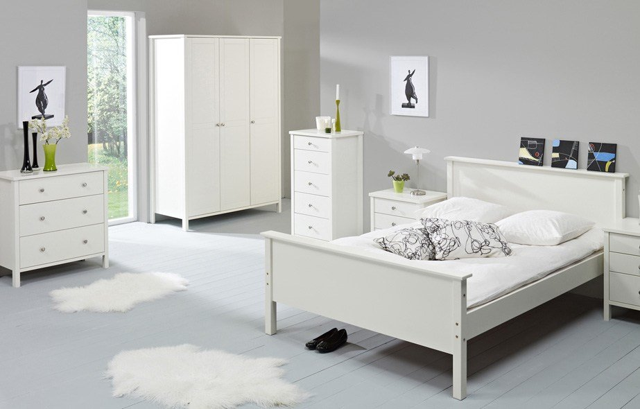 Best Stockholm White Range Bedroom Furniture Direct With Pictures