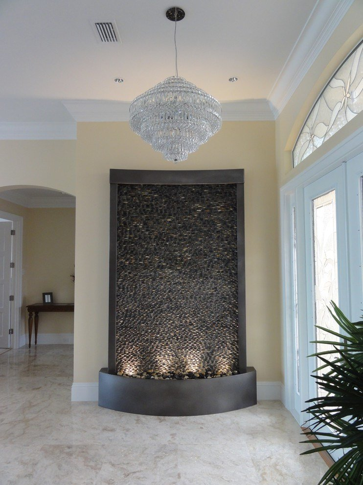 Best Water Fountains Indoor Entry Contemporary With Custom With Pictures