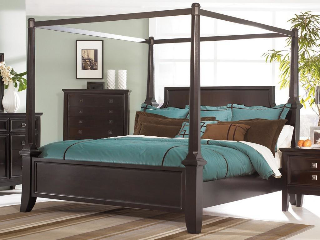 Best Queen Size Canopy Bedroom Set Design Idea And Decor With Pictures