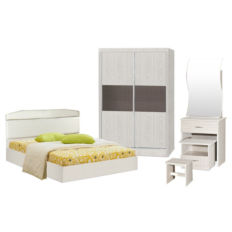 Best Darwin Queen Size Bedroom Set White Furnituredirect Com My With Pictures