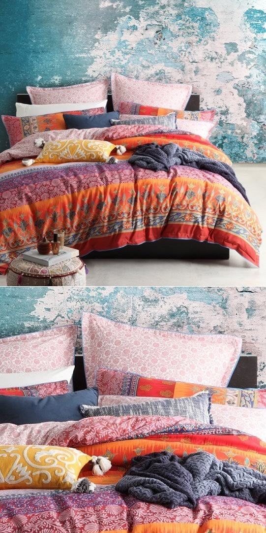 Best India Spice Quilt Cover Set By Logan Mason Cottonbox With Pictures