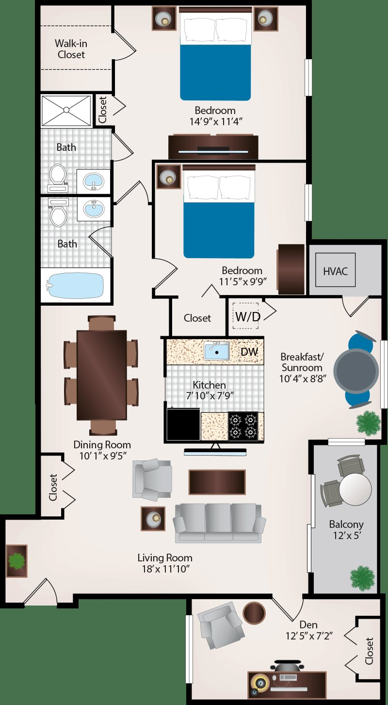 Best Two Bedroom Apartments In Burtonsville Maryland With Pictures