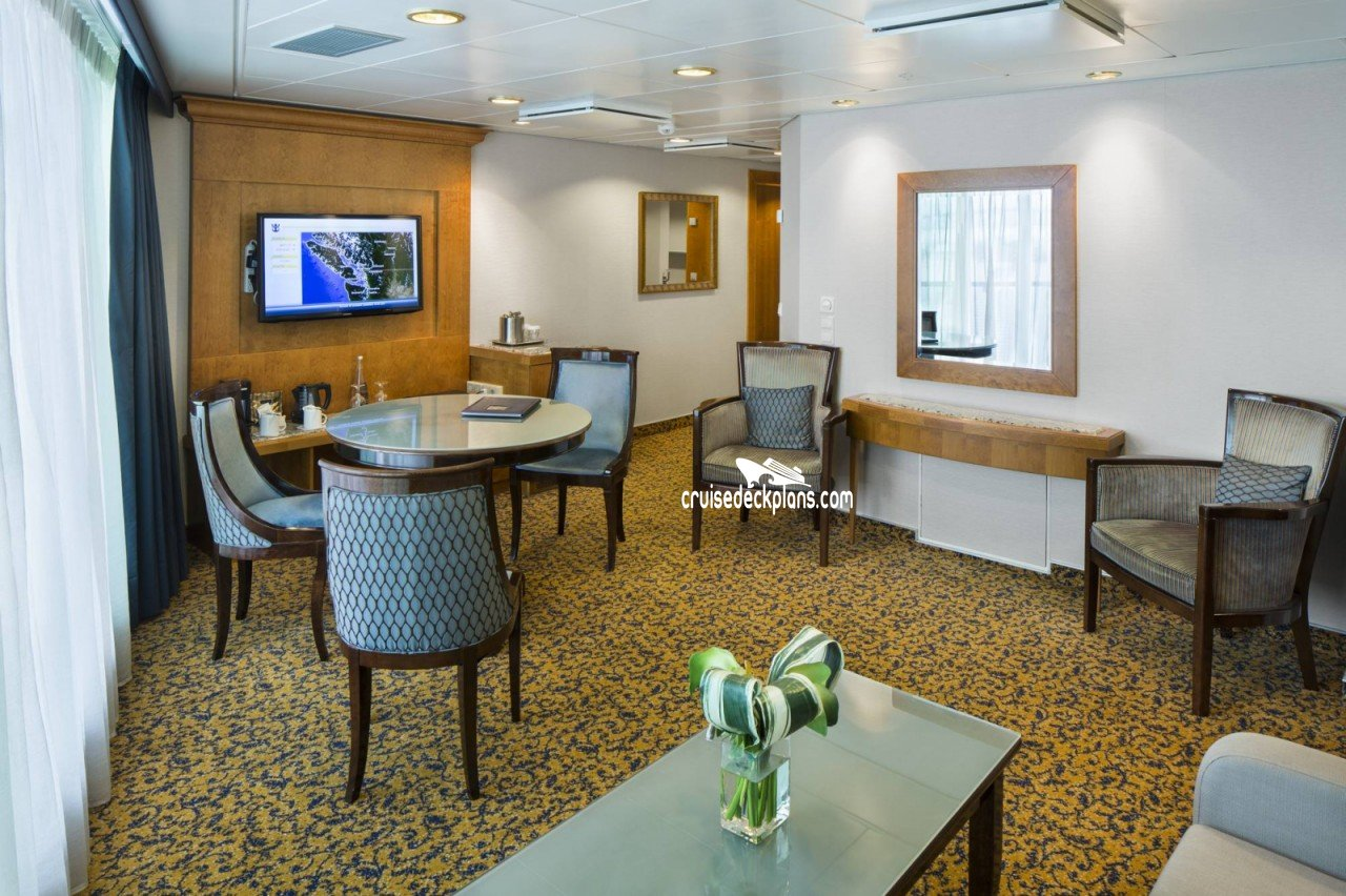 Best Radiance Of The Seas Grand Suite 2 Bedroom Stateroom With Pictures