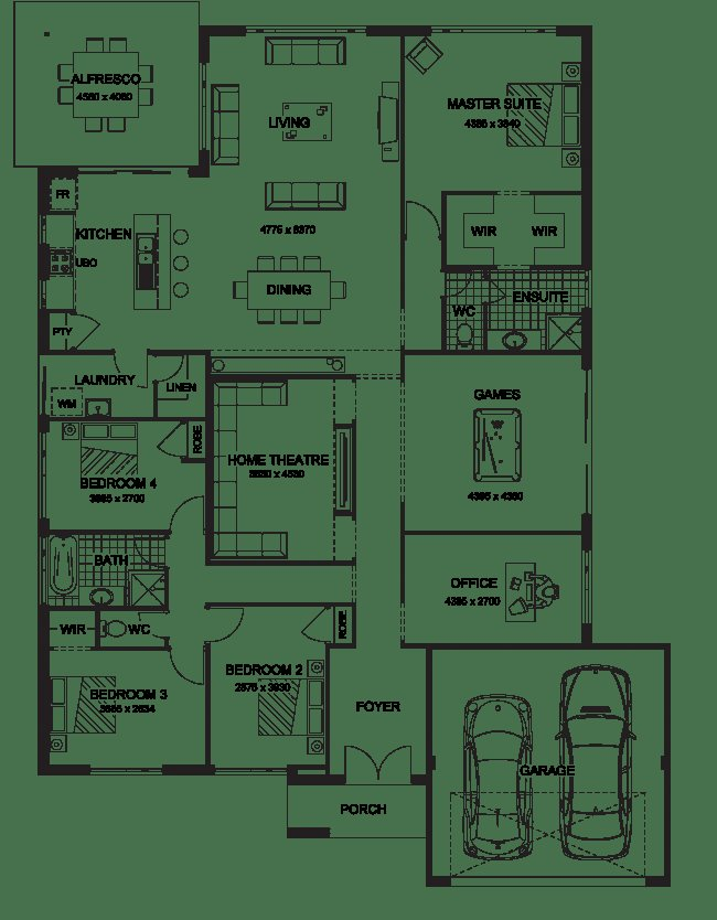Best Floor Plan Friday Master At The Rear Of The Home With Pictures