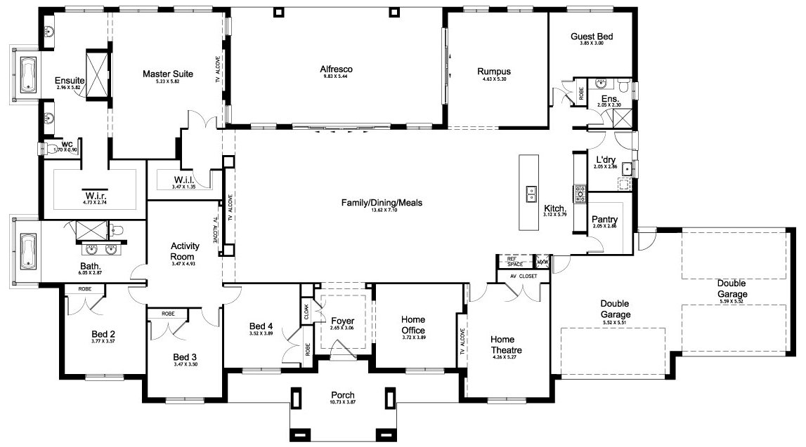 Best Floor Plan Friday 5 Bedroom Acreage Home With Pictures