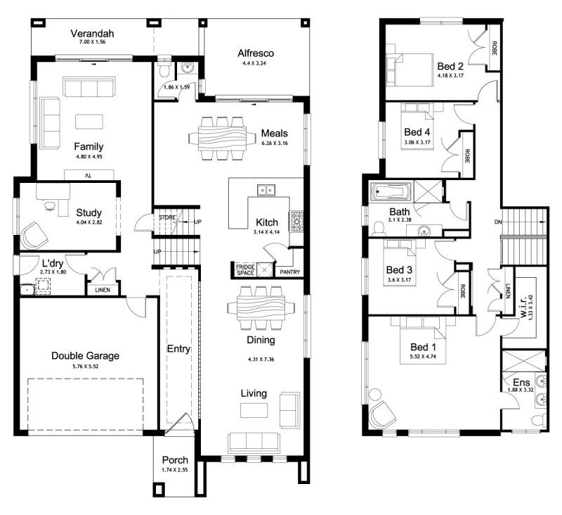 Best Floor Plan Friday Split Level 4 Bedroom Study With Pictures