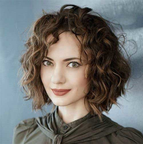 Free Really Stylish Curly Bob Hairstyles For Ladies Bob Wallpaper